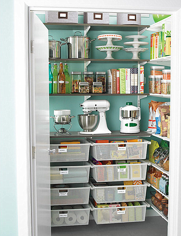 walk in pantry shelving systems photo - 6