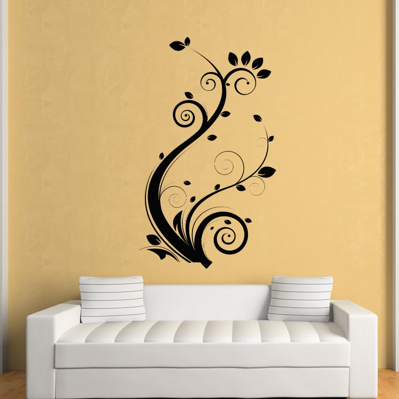 Wall Decoration Stickers 28+ [ flower wall art stickers ] | flowers butterflies floral wall