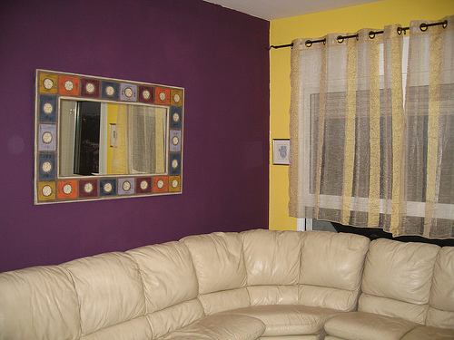 wall colour combination photo - 2