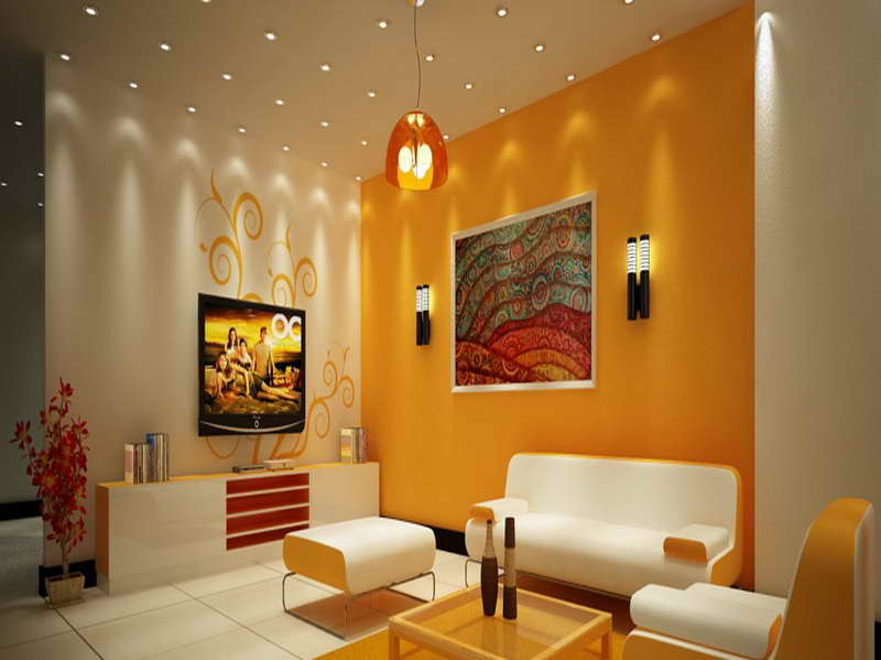 Wall Colour Combination For Living Room Interior Exterior Doors