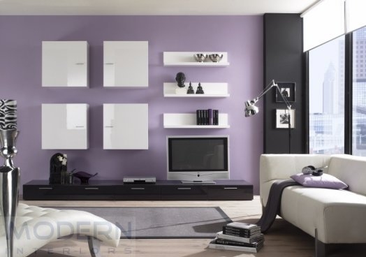 wall colour combination for small living room photo - 1