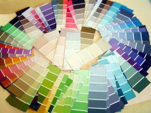 wall colour shade cards photo - 5