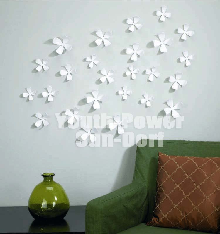 wall decor stickers flowers photo - 2