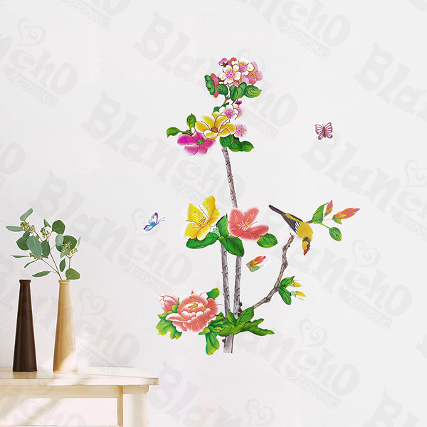 wall decor stickers flowers photo - 5