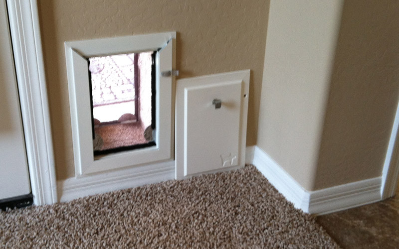 Your Dog\'s lifestyle made easy with Wall dog door | Interior ...