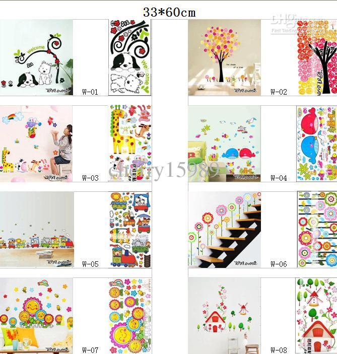 wall flower stickers for kids photo - 2