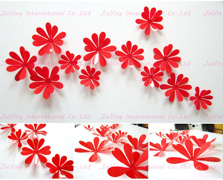 wall flower stickers for kids photo - 4