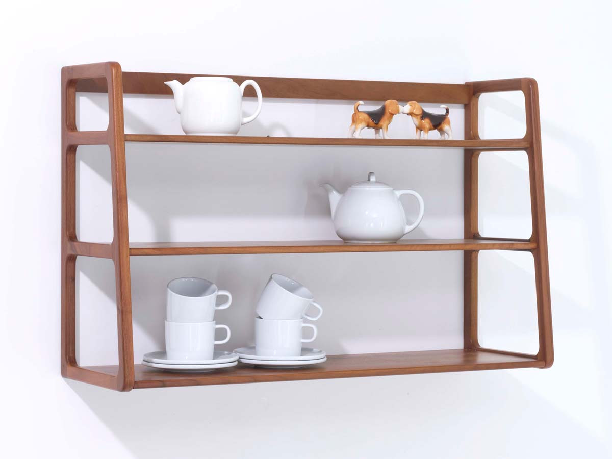 wall mounted printer shelves photo - 2