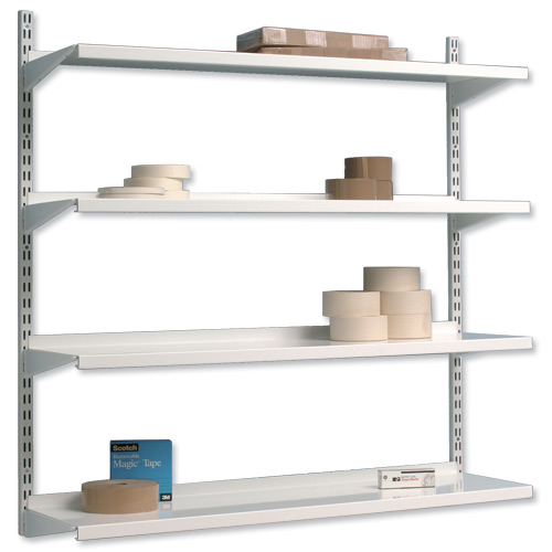 wall mounted printer shelves photo - 5