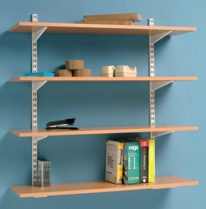 wall mounted printer shelves photo - 6