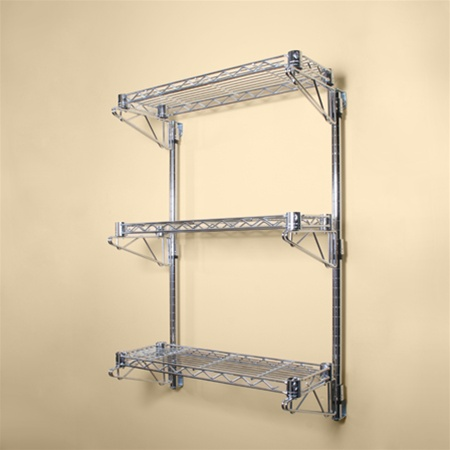 wall mounted shelf kit photo - 3
