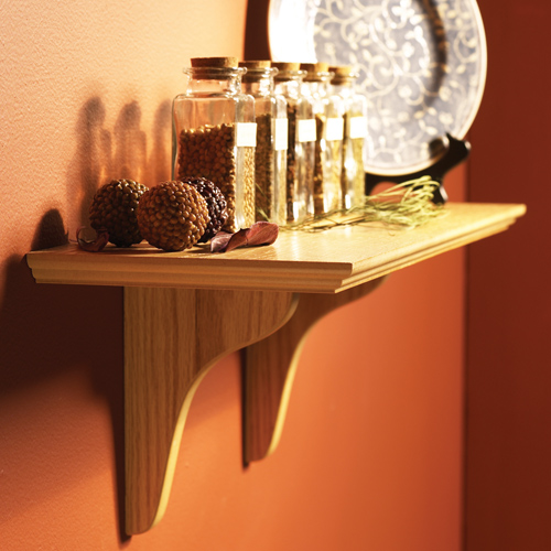 wall mounted shelf kit photo - 4