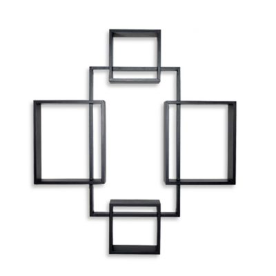 wall mounted shelves bed bath and beyond photo - 2