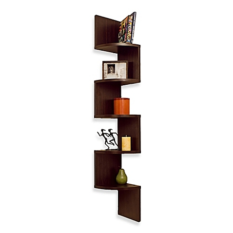 wall mounted shelves bed bath and beyond photo - 6