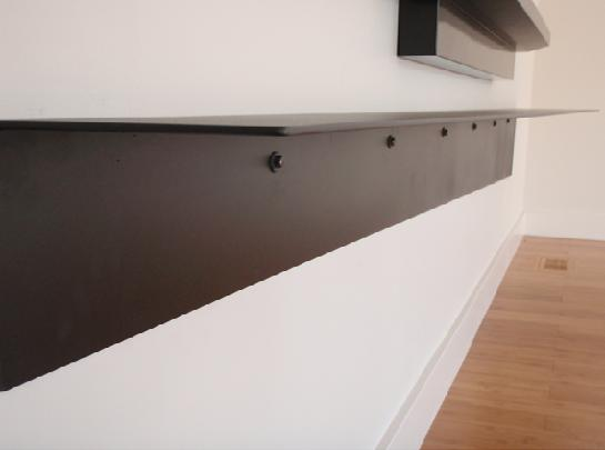 wall mounted shelves metal photo - 4