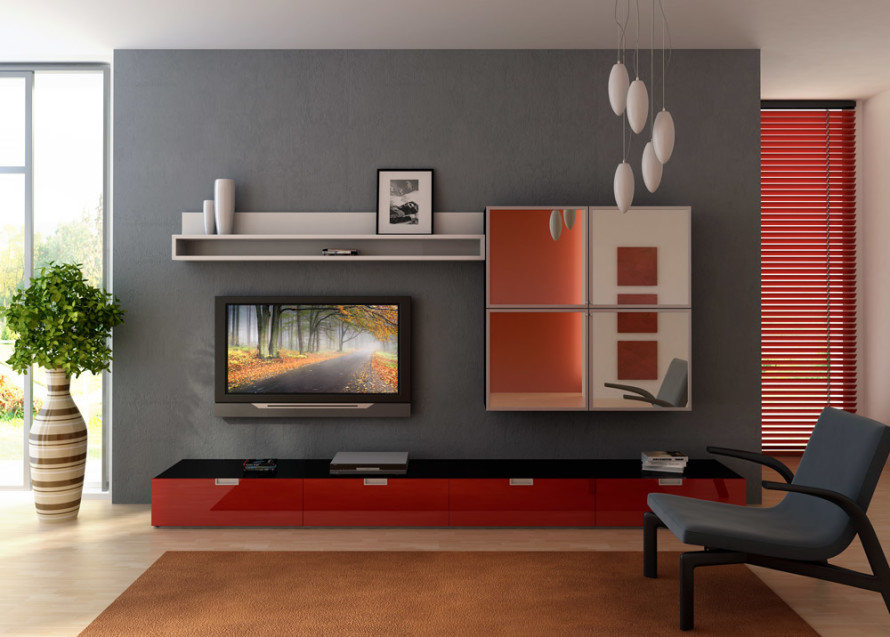 wall paint color small room photo - 5