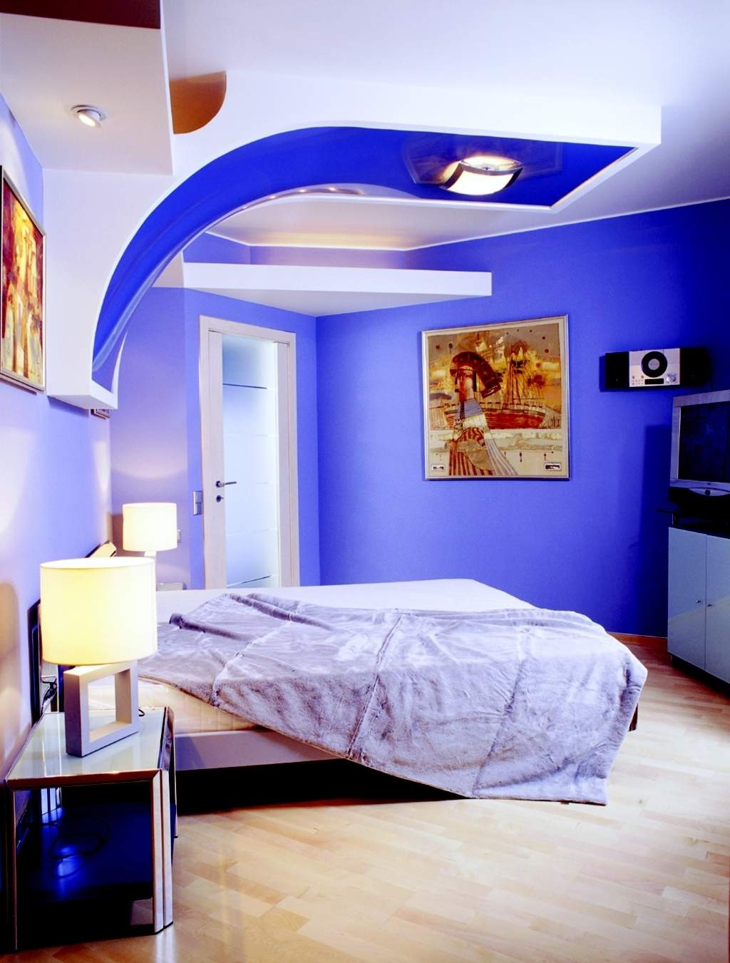 wall paint colors designs photo - 5