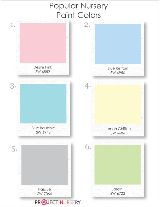 wall paint colors for nursery photo - 1