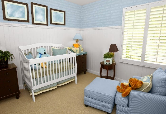 wall paint colors for nursery photo - 6