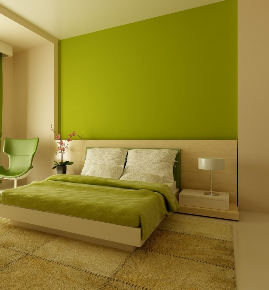 wall paint colors green photo - 3