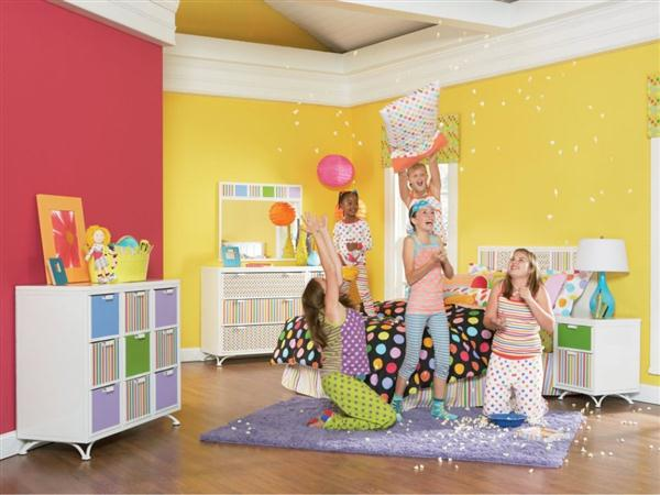 wall paint colors kids room photo - 1