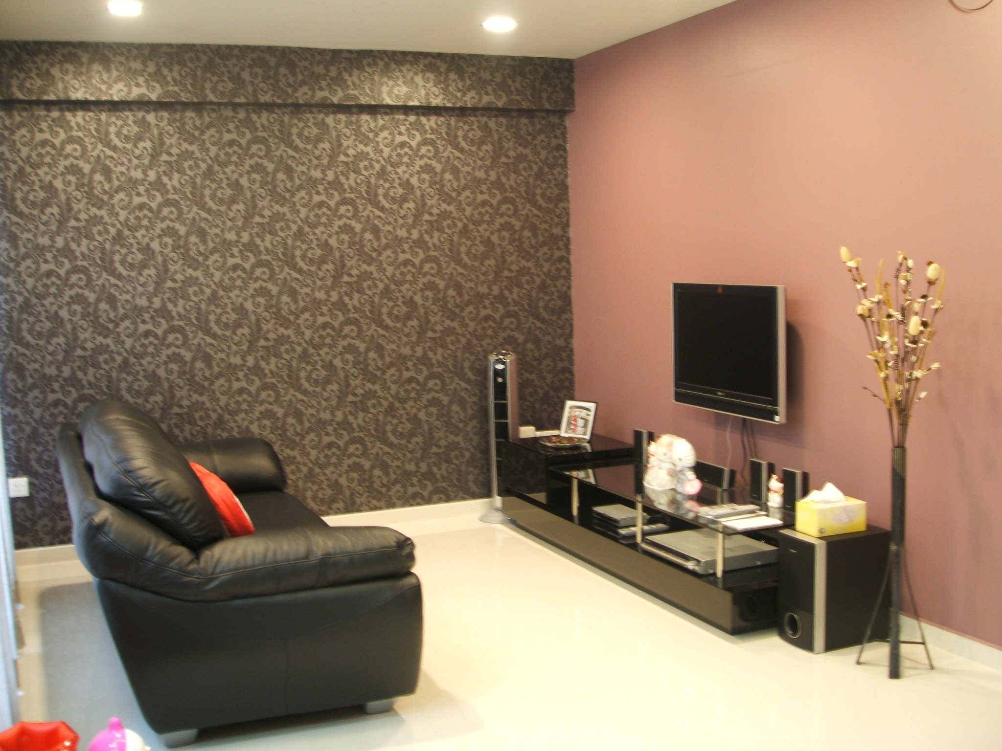 wall paint colors living room photo - 2