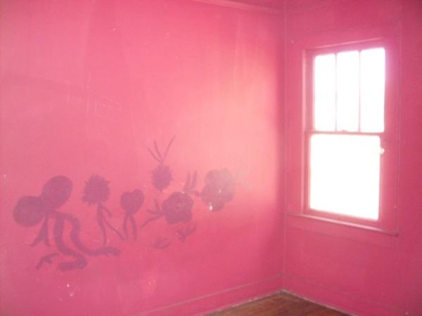 wall paint colors pink photo - 6