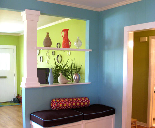 wall paint different color photo - 1