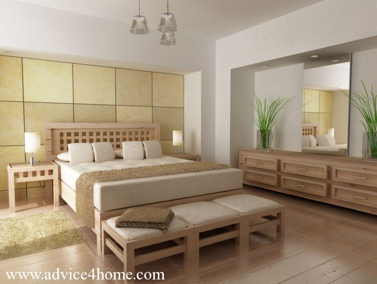 wall tiles design for bedroom photo - 2