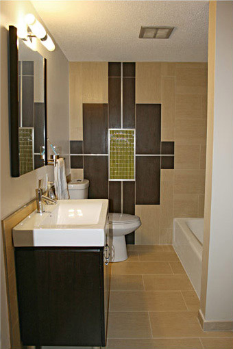 wall tiles design for toilet photo - 2