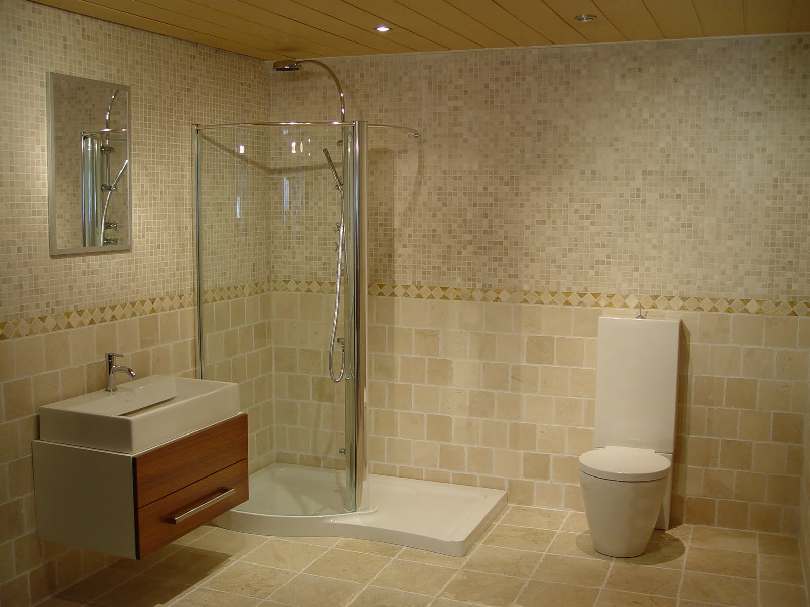 wall tiles design for toilet photo - 6