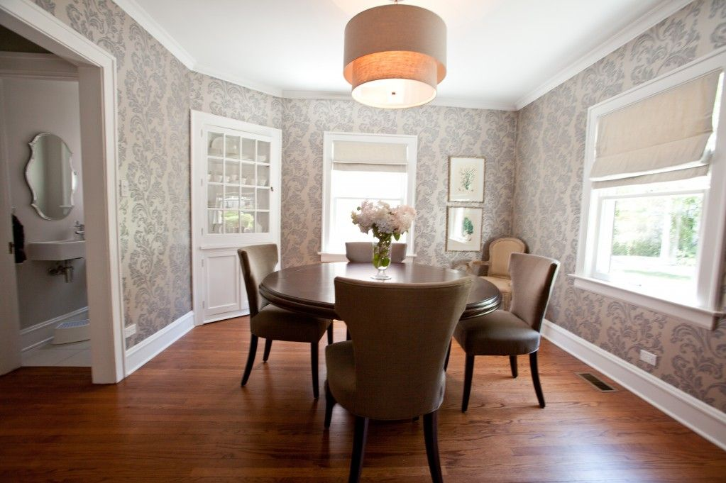 wallpaper for dining room photo - 3