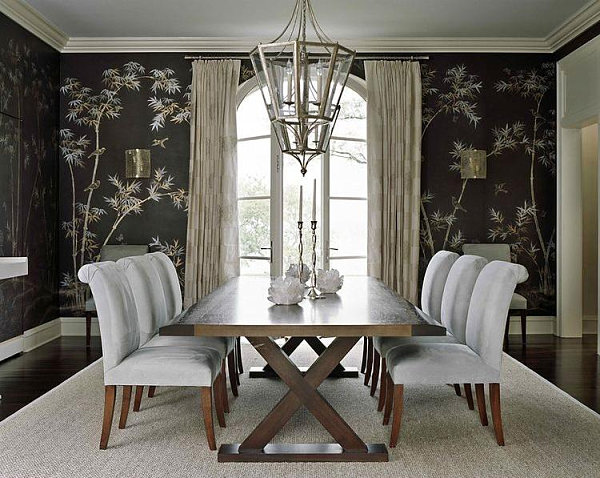 wallpaper for dining room photo - 6