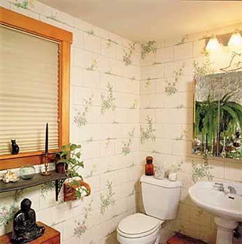 wallpaper interior design photo - 3