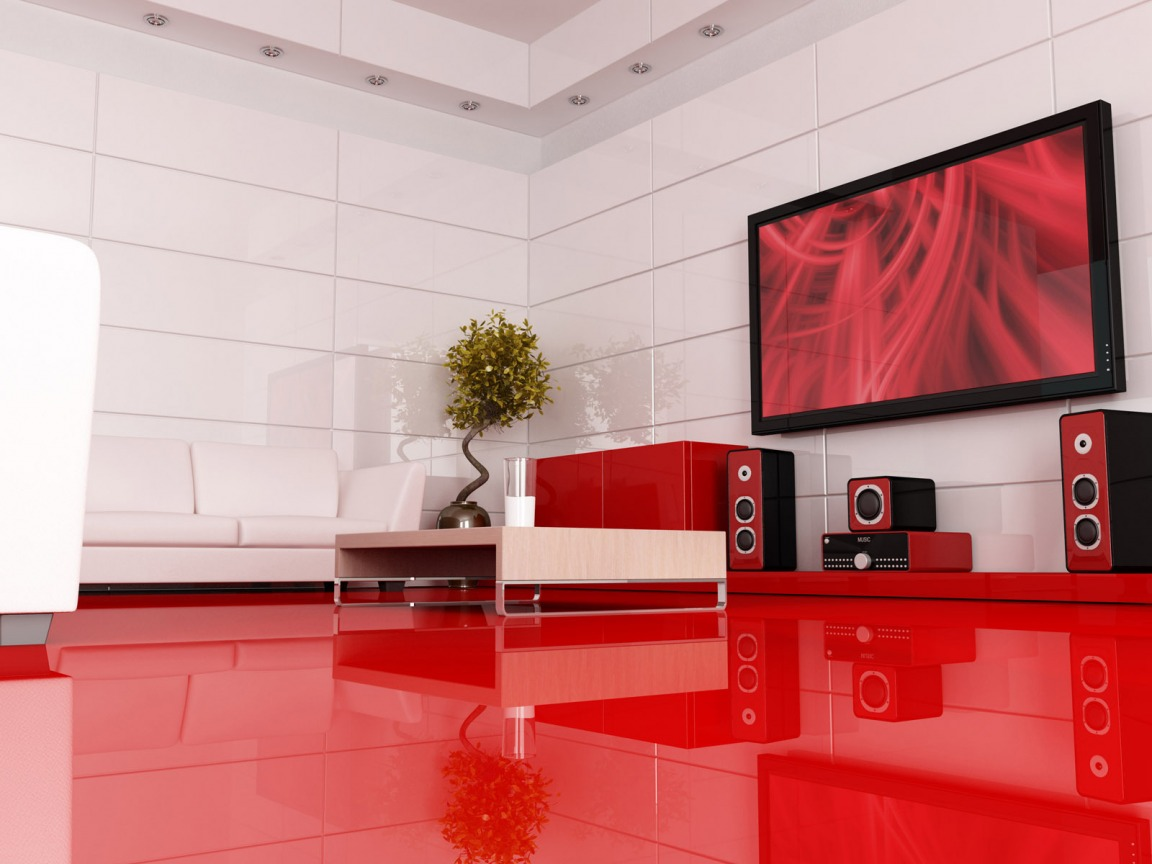wallpaper interior design photo - 6