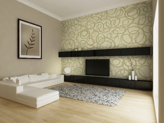 Wallpaper Design Ideas elegant strip wallpaper Wallpaper Interior Design Ideasinteriorexterior Doors Wallpaper Design Ideas