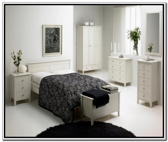 white bedroom furniture decorating ideas photo 5 - Bedroom Furniture Decorating Ideas
