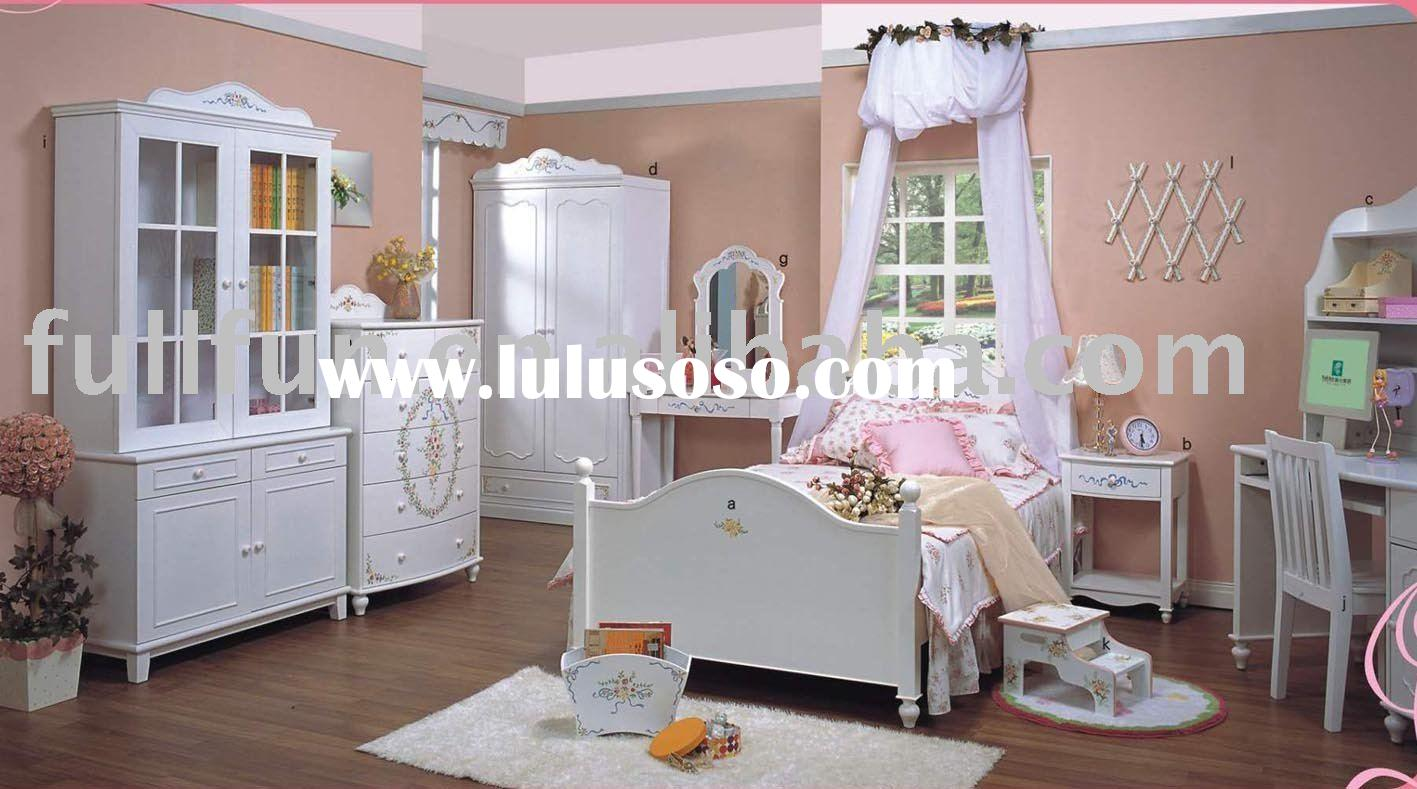 white bedroom furniture for girls photo - 5