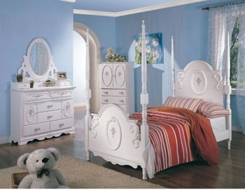 white bedroom furniture for girls photo - 6