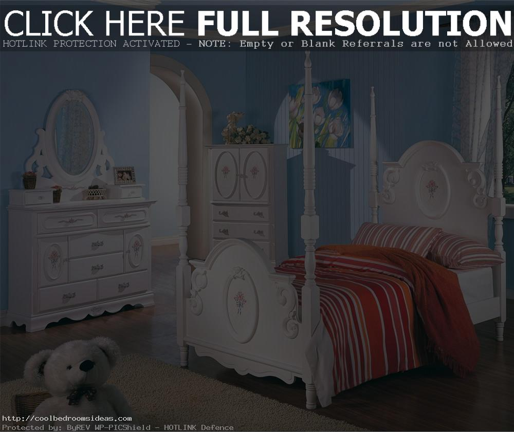 white bedroom furniture for little girls photo - 3