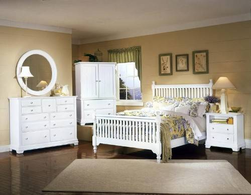 white bedroom furniture sets queen photo - 2