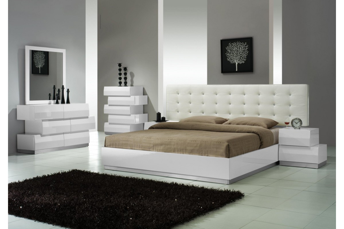 white bedroom furniture sets queen photo - 5