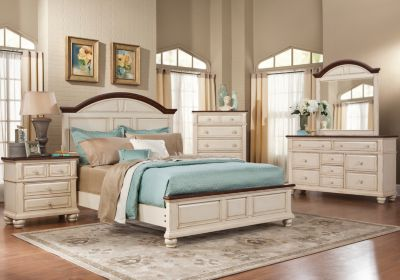 white bedroom furniture sets queen photo - 6