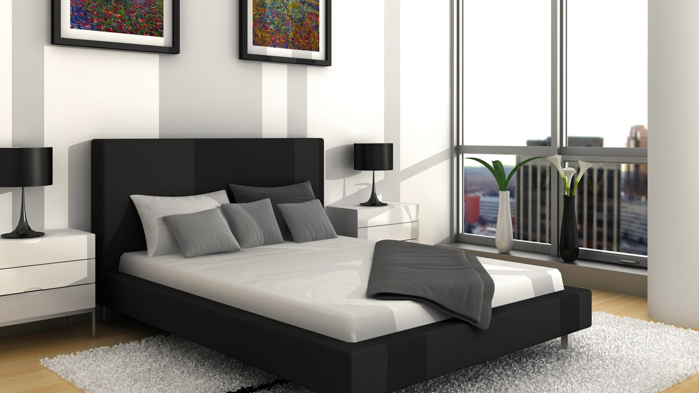 Geous Black And White Bedroom Ideas In 1600x960. Black Grey And White Bedroom Ideas   Bedroom Decorating Ideas