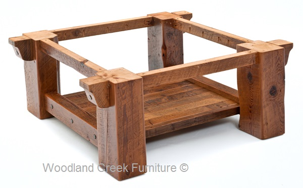 High Quality Wood Coffee Table Base Only Photo   2