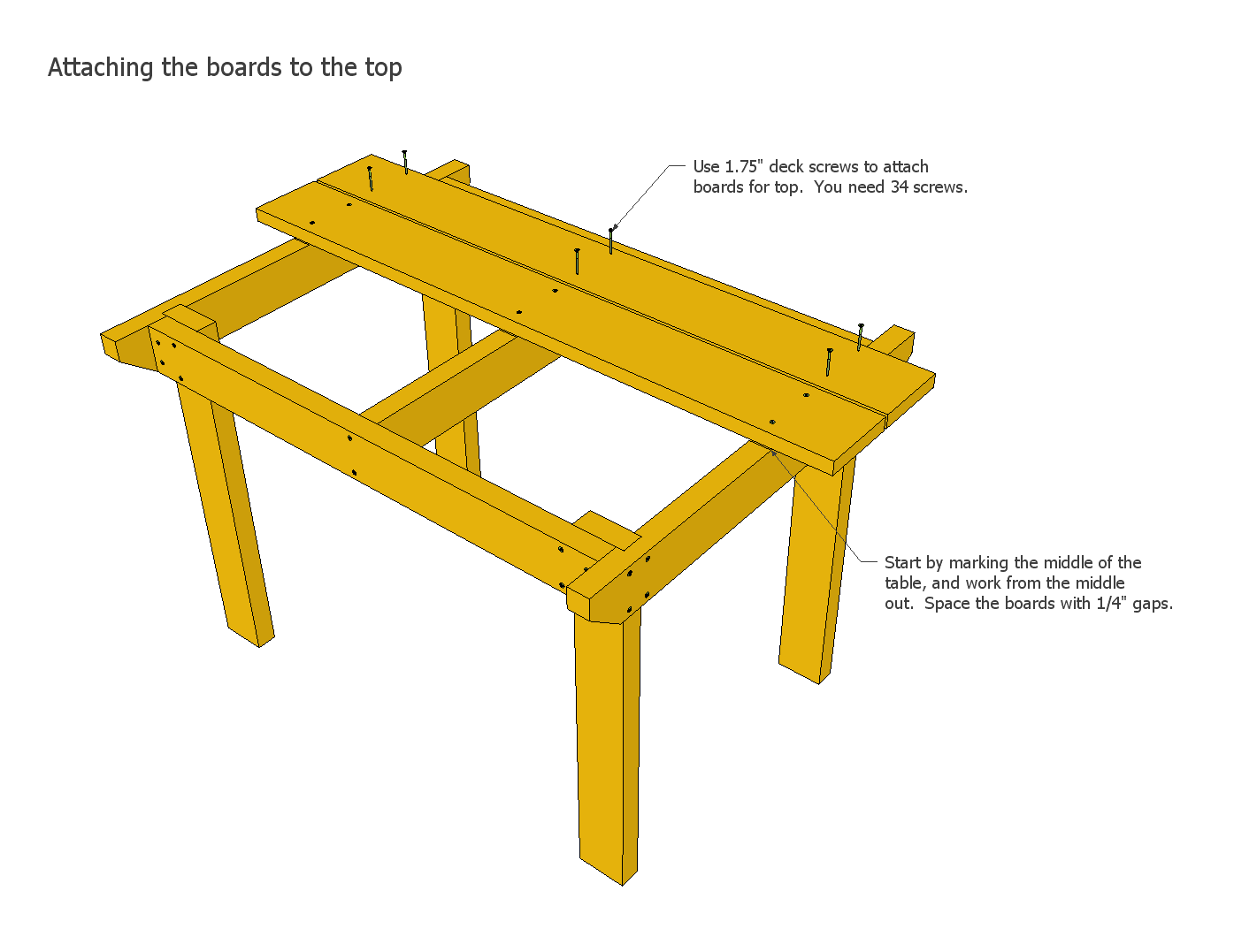 wood coffee table blueprints photo - 5
