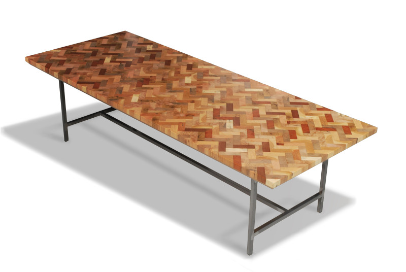 wood coffee table melbourne photo - 2