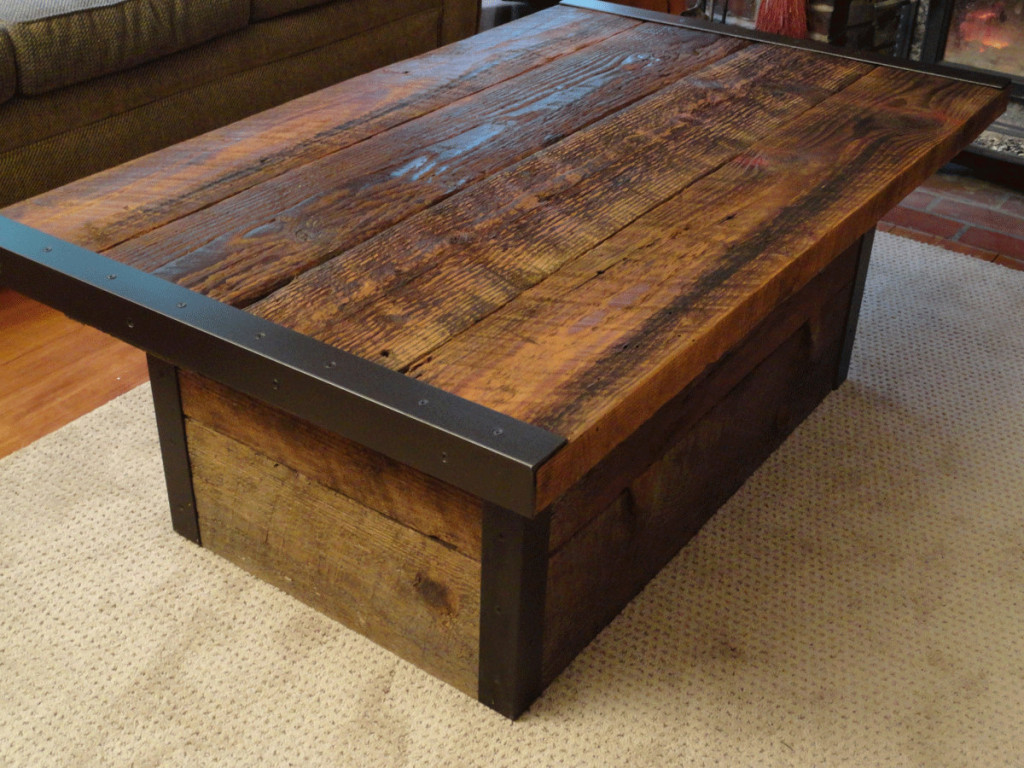 wood coffee table melbourne photo - 4