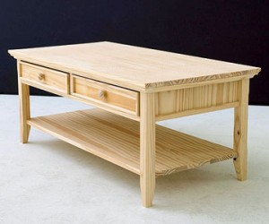 wood coffee table plans photo - 4