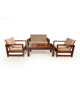 wood furniture designs sala set photo - 4
